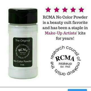Ready stock . RCMA NO COLOUR POWDER Rm85/exclude postage . Sms/whatsapp 0102684600 Wechat rarabooth