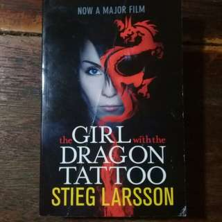 "BRAND NEW ""The Girl with a Dragon Tattoo"" by Stieg Larsson"
