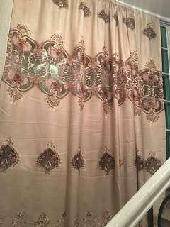 歐式窗簾150元一套