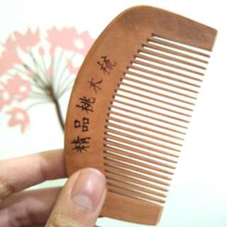 HAIR HEALTH COMB (sisir kesehatan) wood comb sisir kayu