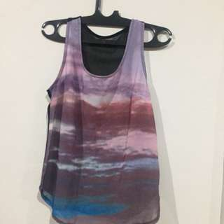 Brandless Cloud Printed Tanktop