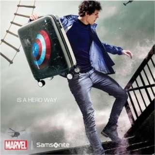 [全新] Samsonite Marvel 系列 20寸 美國隊長 行李箱