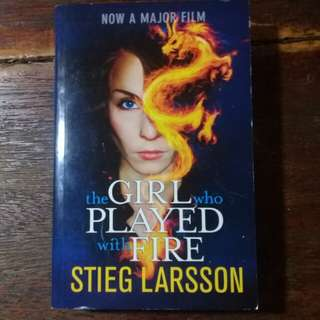 "BRAND NEW ""The Girl who Played with Fire"" by Stieg Larsson"