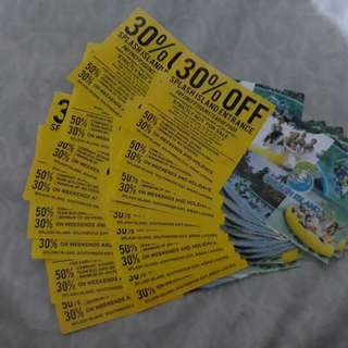 Splash Island 30% OFF Voucher