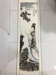 貂婵 chinese painting