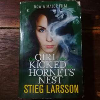 """The Girl who Kicked the Hornet's Nest"" by Stieg Larsson"