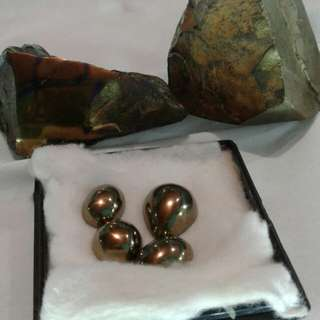Raw badar emas stone