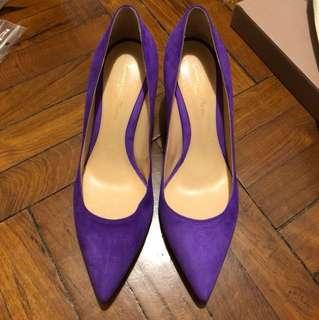 Bright Purple Gianvito Rossi 6cm High Heels
