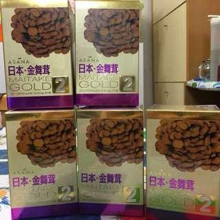 Asana 第2代「金舞茸」60粒裝 增強抵抗力 改善睡眠、精神緊張