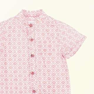 S ea apple coral sea size 12m mandarin shirt for baby boy cny (chubby chubby, le petit society)