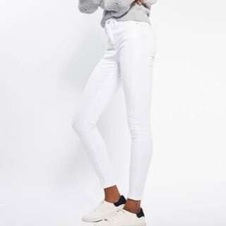 Topshop Jamie Jeans White