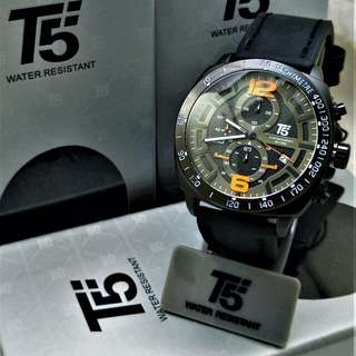 T5 Stainless steel,Chronograph