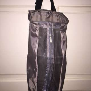 Plastic bag holder - gray