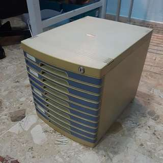 A4 Paper File Cabinet 10 Layers Drawer (395x295x320mm)