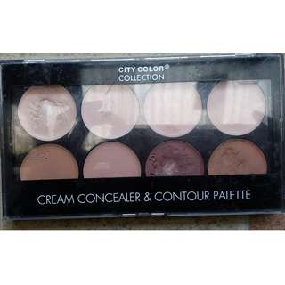 City Color Cream Concelear & Contour Pallette