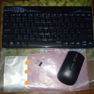 無線鍵盤連滑鼠