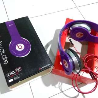 Beats Audio By dr.dre Solo HD with Control Talk A++ Bass Boost