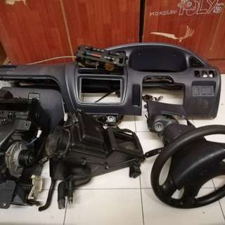 Dashboard L5 kelabu + stering rack + blower