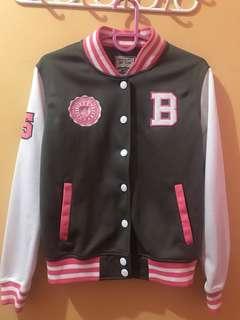 Repriced! BNY Varsity Jacket ( Pink )
