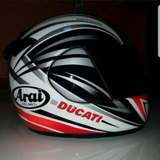 Arai Ducati Helmet - last price at $300