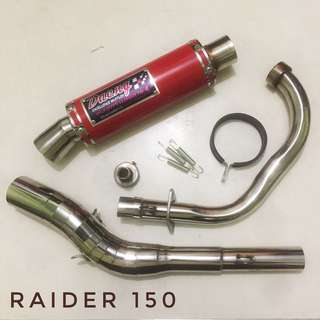 Daeng replica pipe for Raider150