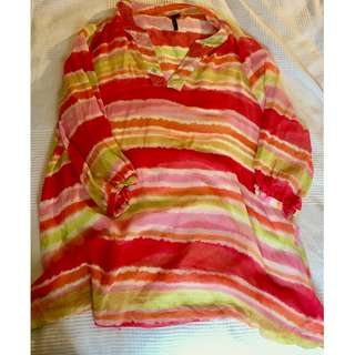 Seafolly 100% silk kaftan - large