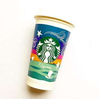 2018 Starbucks reusable cup