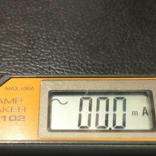 MULTI M102 交流袖珍漏電鉗表 日本製