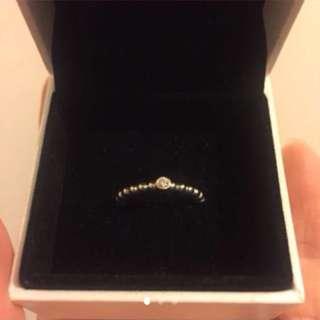 全新pandora鑽石戒指 原價16XX