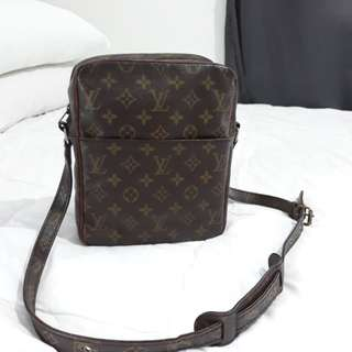 Authentic louis vuitton large danube Sling Bag