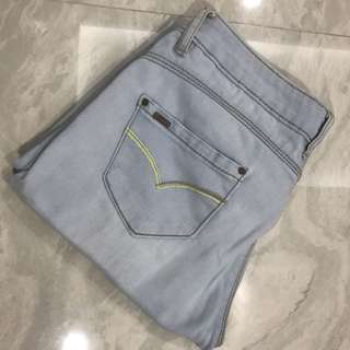 Crissa Faded Blue Jeans