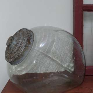 售  正完整氣泡多老兔罐,30*24公分,歡迎私詢