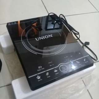 Induction heat cooker.
