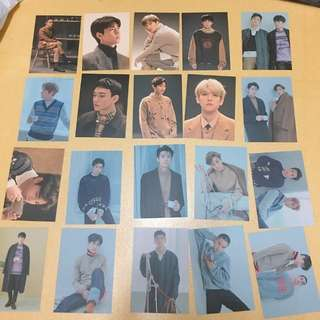 EXO OFFICIAL WINTER ALBUM UNIVERSE POSTCARD
