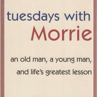 "BRAND NEW ""Tuesdays with Morrie"" by Mitch Albom"