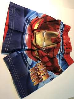 Authentic Iron Man Marvel Shorts