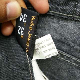 Original Nudie Jeans Slim Jim made Italy
