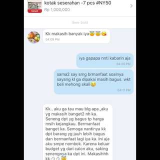 No tipu2 - real testimoni from belove customers