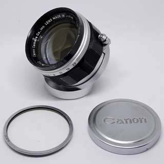 Canon 50 f1.4 LTM Great Condition
