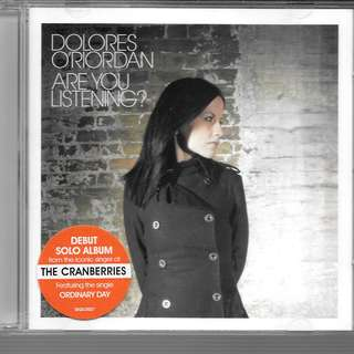 MY PRELOVED CD - DEBUT SOLO ALBUM OF DOLORES O;RIODAN / FREE DELIVERY (F3B)