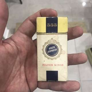 Vintage 555 Cigarette Box
