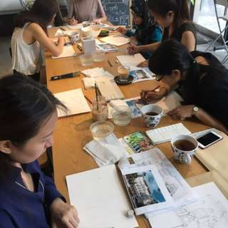 Private art workshop