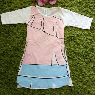Dress PopScl Size 1 Thn