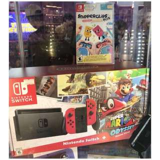 Brand New Nintendo Switch Mario