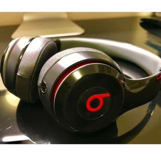 Beats by Dre Solo Headphones (95% new)
