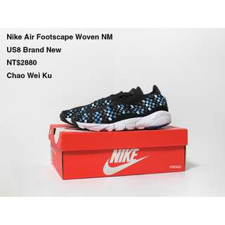 Nike Air Footscape Woven NM US8 Brand New