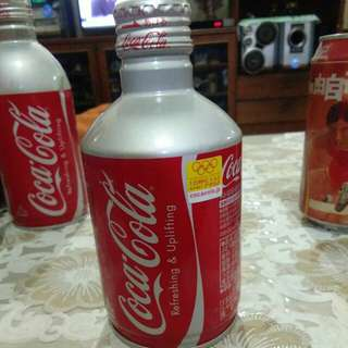 Japanese Coca Cola with Olympic Sticker