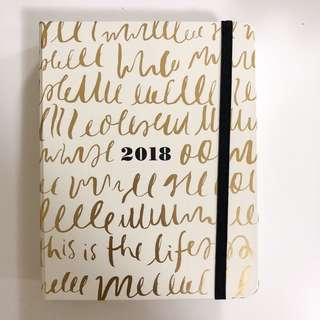 Authentic Kate spade 2018 planner