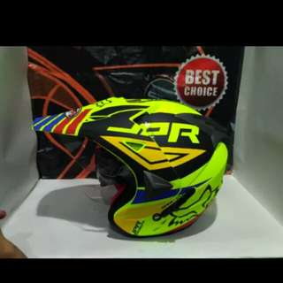 Helmet jpr supermoto semi cross fox #1