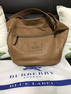 Blue Label Leather Big design Sling bag